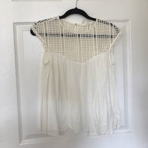 H&M Woven Top Size 4